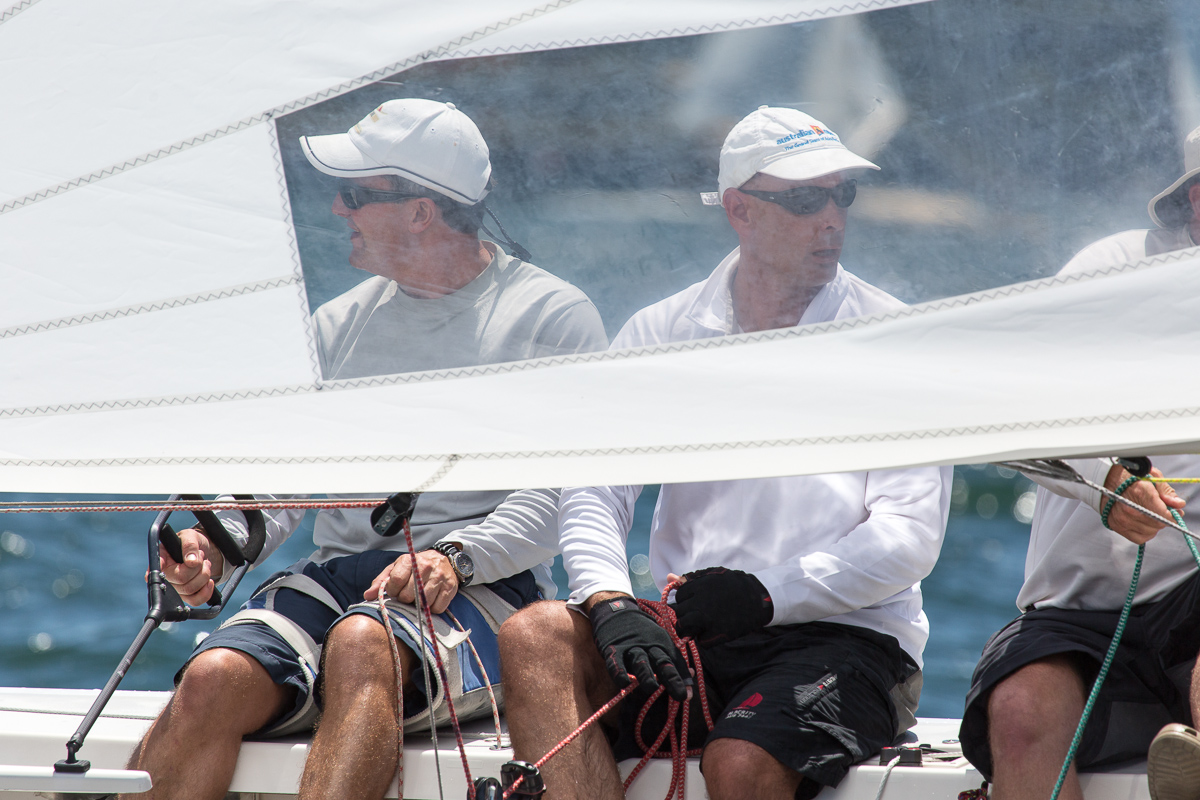 Looking both ways on Animal House. Dirk Van Der Struyf and Ray Smith's efforts secured them a 6th place in Race Seven