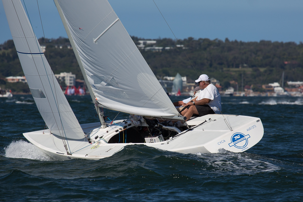 North Sydney Station – Ed McCarthy, Richie Allanson and Iain Murray - winners of Race Four
