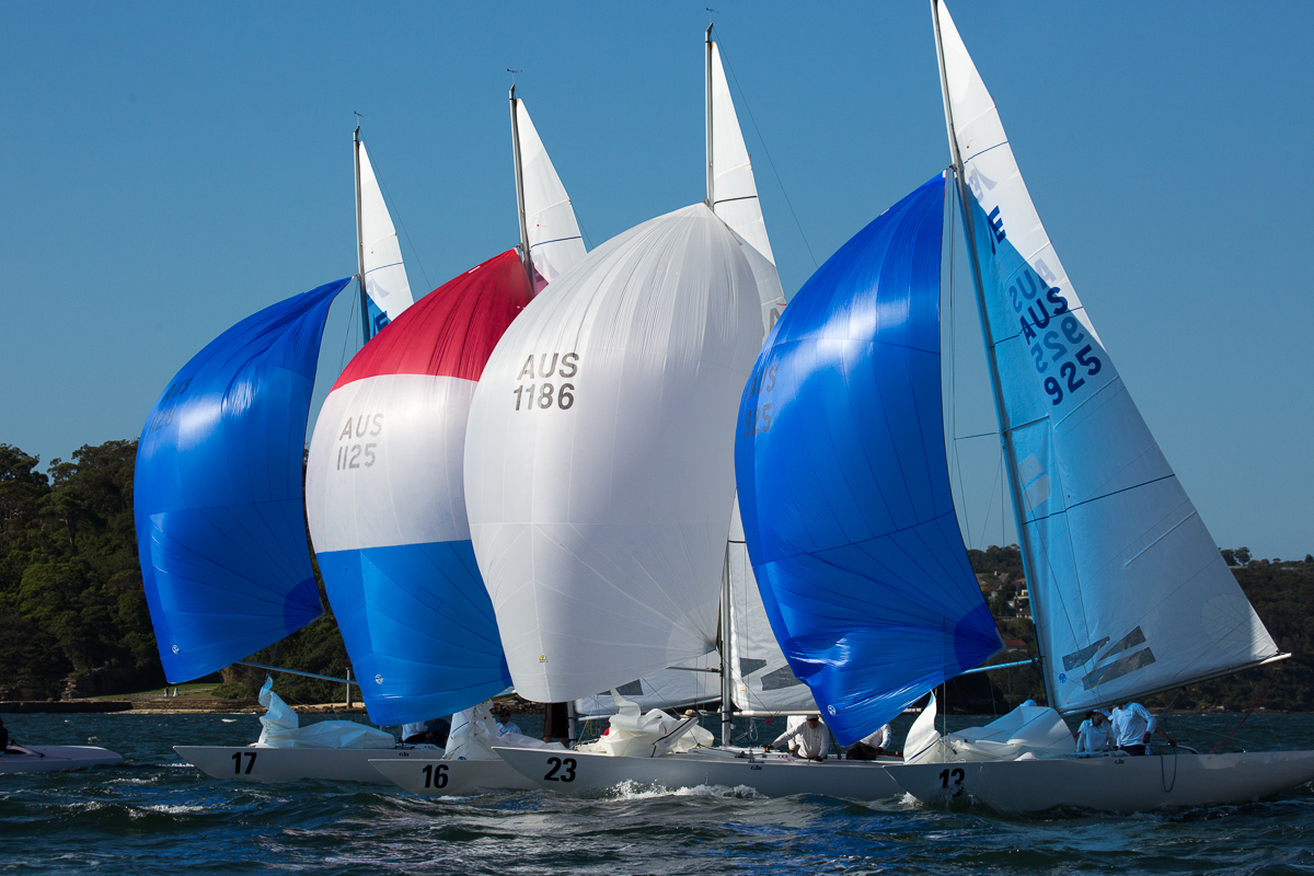 Yes. Close racing is a real feature of the Etchells