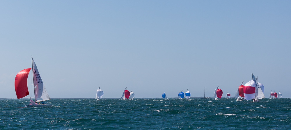 Convincing win with a 42 second lead by The Cure, David Clark, Ray Smith, Alan Smith, Mitchell Luxton, in Race Seven.